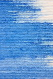 Macro Blue Watercolor on Textured Paper 2 Royalty Free Stock Image