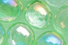 Macro boutons verts Photo libre de droits