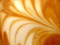 Macro Capucinno. Macro photo of design on capucinno coffee Royalty Free Stock Photography