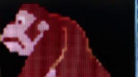 Macro carattere della gorilla dell'ECU '' dall'asino Kong retro Arcade Video Ga classico archivi video