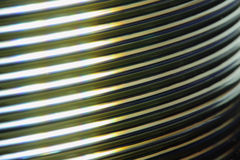 Macro CD Pile. Macro shot on the pile of DVD-discs Royalty Free Stock Images