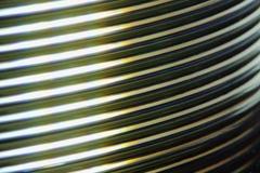 Macro CD Stapel Royalty-vrije Stock Afbeeldingen
