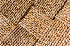Macro of chair weave Stock Photos