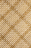 Macro checked fabric texture background Stock Images