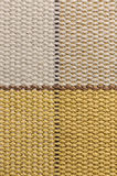 Macro checked fabric texture background Royalty Free Stock Images