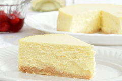 Macro cheesecake Royalty Free Stock Photo