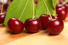 Macro cherry Royalty Free Stock Photos