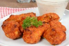 Macro chicken wings Royalty Free Stock Image