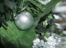 Macro of Christmas Decorations Stock Images
