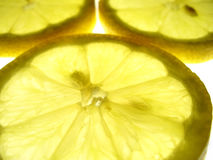 Macro citron Images stock