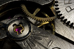 Macro of clock drive Royalty Free Stock Photography