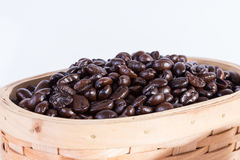 Macro close up coffee beans Stock Photography