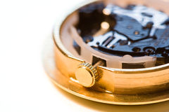 Watch Inside Macro Royalty Free Stock Image