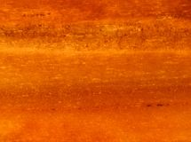 Macro close up sedimentary rock in sunlight . Red orange background . Stock Photography
