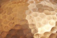 Macro close-uppatroon van gehamerde kuiperpot 6 Royalty-vrije Stock Afbeelding