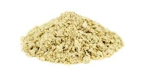 Macro closeup of kava root. Detailed studio shot Stock Photos