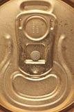 Macro Closeup shot of pull ring Royalty Free Stock Images