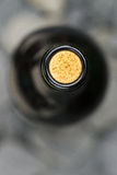 Macro Closeup Wine Bottle Cork Stock Images