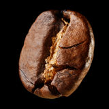 Macro coffee bean Royalty Free Stock Images