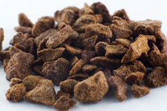 Macro coffee granules Royalty Free Stock Photography