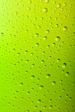 Macro of a Cold Frosted Beer Bottle. Macro of a Cold Frosted green Beer Bottle Royalty Free Stock Photos