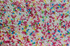 Macro of colorful cake decoration Stock Photo