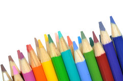 Macro colorful pen Stock Photography