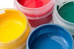 Macro colorida del aguazo Foto de archivo