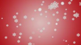 Macro colpo dal fiocco di neve Priorità bassa astratta di inverno Fotografia Stock Libera da Diritti