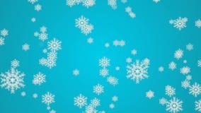 Macro colpo dal fiocco di neve Priorità bassa astratta di inverno Immagini Stock