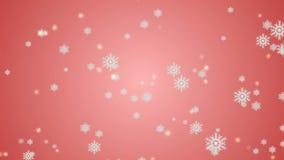 Macro colpo dal fiocco di neve Priorità bassa astratta di inverno Immagine Stock Libera da Diritti