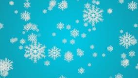 Macro colpo dal fiocco di neve Priorità bassa astratta di inverno Fotografia Stock