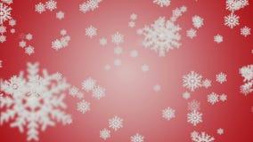 Macro colpo dal fiocco di neve Priorità bassa astratta di inverno Fotografie Stock