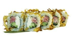 Macro colpo dei sushi Ristorante giapponese, sushi, tradizione orientale Fotografia Stock
