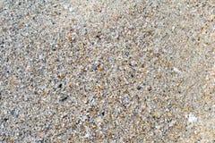 Macro colpo di struttura della sabbia fotografia stock libera da diritti