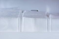 Macro Cotton Swabs Stock Photos