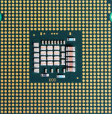 Macro of cpu processor Stock Image