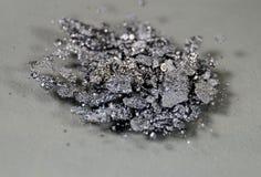 Crystals of Iodine. Macro of crystals of Iodine I royalty free stock photo