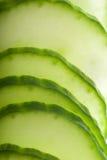 Macro Cucumber Royalty Free Stock Images