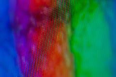 Macro d'affichage à cristaux liquides Photographie stock