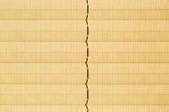 Macro d'extrémité de texture de tissu d'abat-jour de fenêtre Image libre de droits