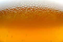 Macro da cerveja Foto de Stock