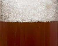 Macro da cerveja Imagem de Stock