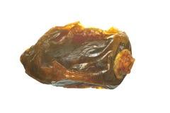 Macro da fruta da tâmara secada Fotografia de Stock