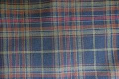 Macro da matéria têxtil da manta em cores deprimidos Foto de Stock Royalty Free