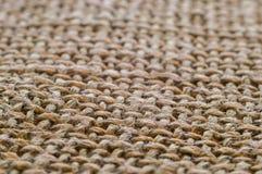 Macro da superfície do algodão Fotografia de Stock Royalty Free