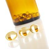 Macro da vitamina D imagem de stock