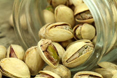 Macro dai pistacchi Immagini Stock