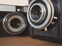 Macro das lentes Imagens de Stock