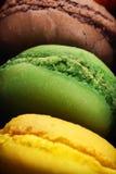 Macro de bolinhos de amêndoa deliciosos Foto de Stock Royalty Free